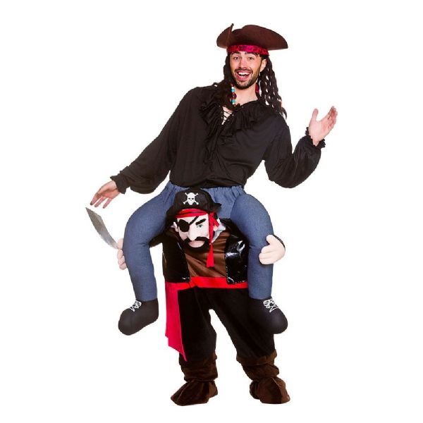 Adults Carry Me - Pirate Costume Unisex Fancy Dress